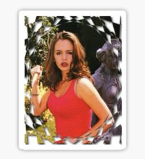 Buffy Angel Faith Eliza Dushku Sticker