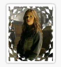 Buffy Angel Faith Eliza Dushku 1 Sticker