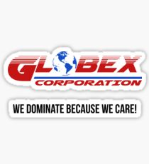 Globex corporation official atire Sticker