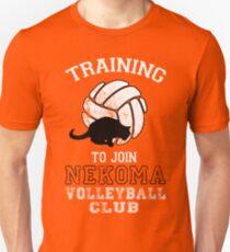 Training to join Nekoma Volleyball Club Unisex T-Shirt