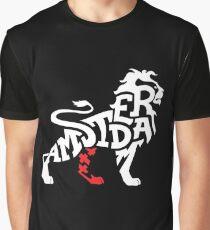 Amsterdam Lion Graphic T-Shirt