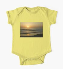 California Surfing Sunset - Pacific Beach, San Diego, California One Piece - Short Sleeve
