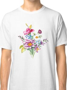Colorful bunch of flowers  Classic T-Shirt