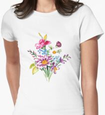Colorful bunch of flowers  T-Shirt