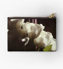 White Tulips Studio Pouch