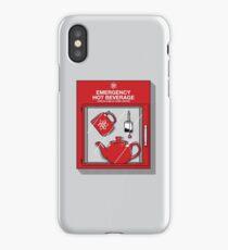 Social Protocol Emergency iPhone Case/Skin