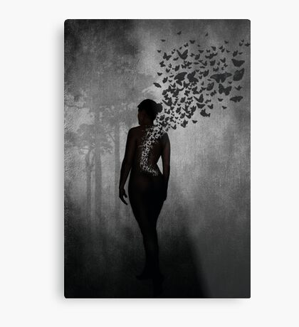 The Butterfly Transformation Metal Print