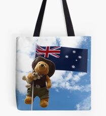 Pooh Bear and Kanga Down Under! Tote Bag