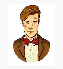 11th Doctor - Matt Smith Photographic Print