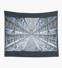 Geometric Building Wall Tapestry
