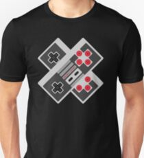 Retro Video Game Pattern Unisex T-Shirt