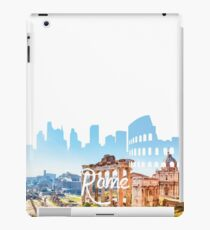 Rome Skyline White iPad Case/Skin
