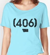 Area Code 406 Montana Women's Relaxed Fit T-Shirt