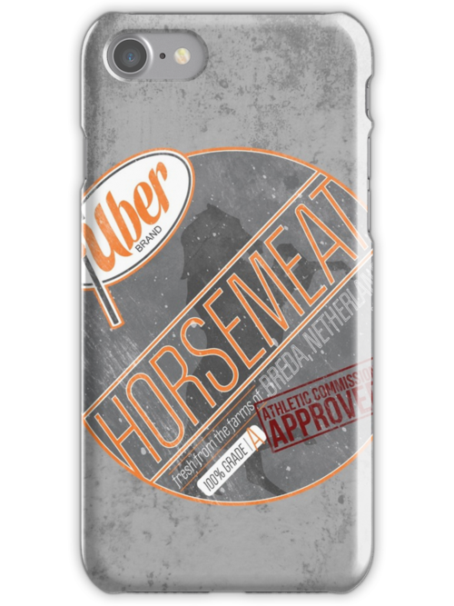 Uber Brand Horsemeat - Weathered with Stamp by huckblade