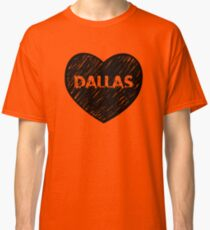 I Love Dallas - I Heart DAL (Urban) Classic T-Shirt