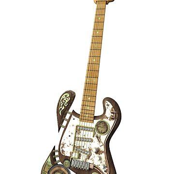 Steampunk Guitar von Reubsaet