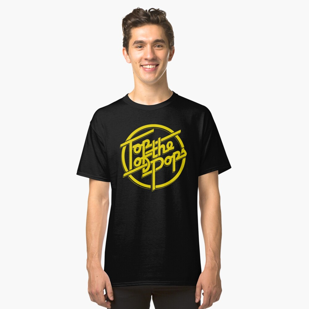NDVH Top of the Pops - 1973-1981 Classic T-Shirt Front