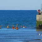 Canoeists by dOlier