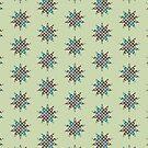 Dotty Chequerboard by Liz Plummer