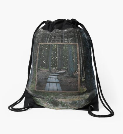 Mirror Of The Soul Drawstring Bag