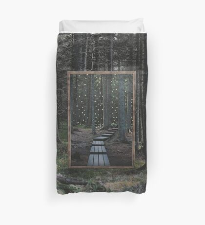 Mirror Of The Soul Duvet Cover