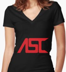 Alteran Stellar Cartography (Large) Women's Fitted V-Neck T-Shirt