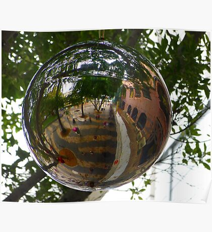 Bauble Reflection Poster