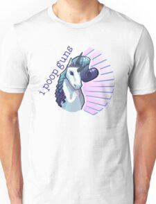 I poop guns  Unisex T-Shirt