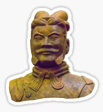A Tericotta Warrior Sticker