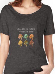 Standing Rock T- Shirt Women's Relaxed Fit T-Shirt