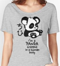 I'm a cute little panda Women's Relaxed Fit T-Shirt