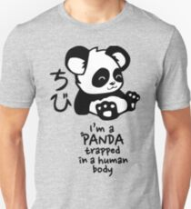 I'm a cute little panda Unisex T-Shirt