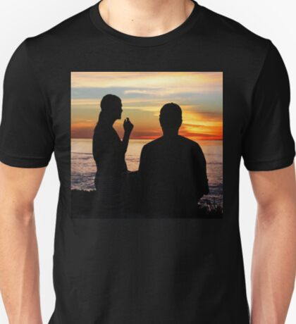 Conversation At Sunset T-Shirt