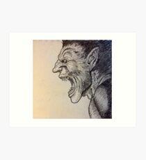 Zodd-Berserk Art Print