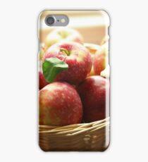 basket of apples iPhone Case/Skin
