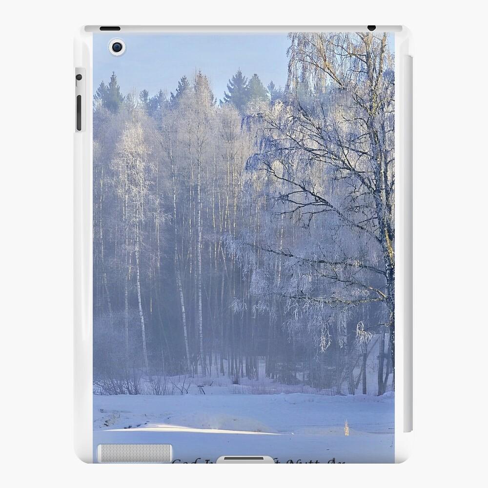 Weihnachtskarte - Norwegisch txt iPad-Hüllen & Klebefolien