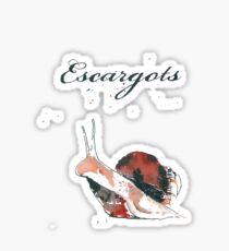 Escargot Sticker
