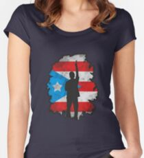 Usnavi | In the Heights Women's Fitted Scoop T-Shirt