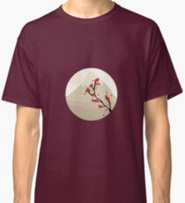 Oriental Japanese Mountain View Classic T-Shirt