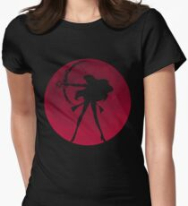 Planet Mars Women's Fitted T-Shirt
