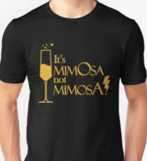 Wingardium MimOsa - Black/Yellow Unisex T-Shirt