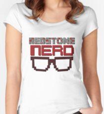 Redstone NERD Women's Fitted Scoop T-Shirt