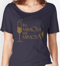Wingardium MimOsa - Blue/Bronze Women's Relaxed Fit T-Shirt