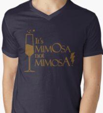 Wingardium MimOsa - Blue/Bronze Mens V-Neck T-Shirt