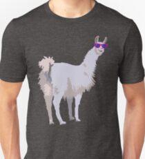 Cool Llama In Sunglasses T-Shirt