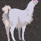Cool Llama In Sunglasses by theartofvikki