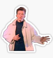 Rick Astley at his Best Sticker