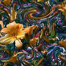 Lily Chaos No 2 by Wayne King