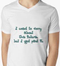 Don't worry Men's V-Neck T-Shirt