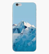 Low Poly Geometric Mountain  iPhone Case